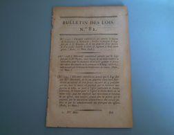 Lois: Inventaire Des Sels & Augmentation Du Droit. Legs Andenne,Semur,Uncey,Rocroy,Digne... Droits Sur Crêpes De Soie - Wetten & Decreten