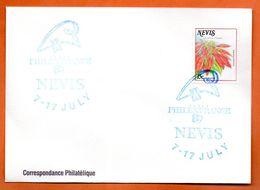 NEVIS  PHILEXFRANCE  1989 Lettre Entière N° RS 124 - Sonstige - Ozeanien