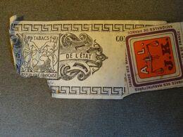 FRANCE  TABAC Avec Vignette - Revenue Stamps