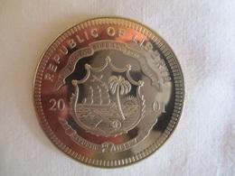 Liberia 5 Dollars 2001 - Euro, New European Currency - Liberia