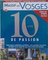 Magazine Massif Des Vosges 10 Ans De Passion Epinal - Nature
