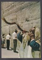 115639/ JERUSALEM, Western Wall, Wailing Wall, Bowling The Shofar - Israele