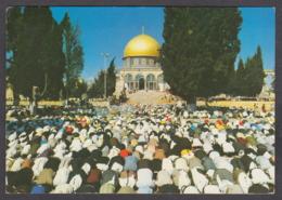 115641/ JERUSALEM, Dome Of The Rock, Muslims Praying - Israele