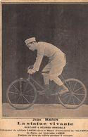 20-9389 : JEAN MARIN. LA STATUE VIVANTE BICYCLETTE LABOR . VELO - Cabaret