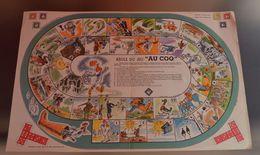JEU DE L'OIE PUBLICITE BOTTES AU COQ 50x32CM Création ARDOR PARIS - Jeux De Société