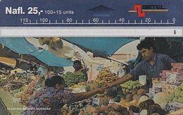 CURACAO - Floating Market, CN : 804A, 04/98, Used - Antille (Olandesi)