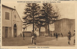 40 BAUDONNE - Société Des Missions Africaines - Cour De Récréation - Other Municipalities