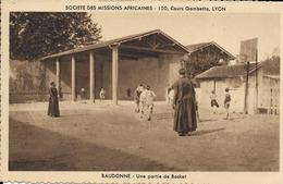 40 BAUDONNE - Société Des Missions Africaines - Une Partie De Basket - Other Municipalities