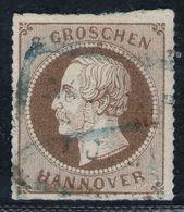 Norderney Auf 3 Groschen Hellbraun - Hannover Nr. 25 Y - Hanover