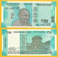 India 50 Rupees P-109 2018 (Letter L) UNC - India