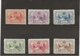 ESPAGNE - SERIE EXPO DE MADRID 1907 -N° 236 A 245 AVEC CHARNIRE - COTE : 60 € - Unused Stamps