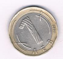 1 LEVA 2002 BULGARIJE /5743/ - Bulgaria