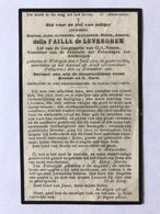 Adel / Noblesse 1920 Wilrijk Kasteel De Mick Brasschaat Polygoon Jonkheer Della Faille De Leverghem - Images Religieuses