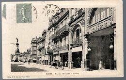Reims, Rue De L'étape Et Le Casino - Reims