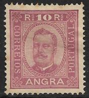 Angra – 1905 King Carlos Reprint 10 Réis - Angra