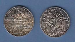 Österreich 2006 Silbermünze 10 Euro Benediktinerrinenabtei Nonnberg (mit Patina) - Autriche