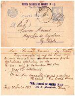 IASI / JASSY : ILIE I. MENDELSOHN / OGLINZI [ JUDAÏCA ! ] - ENTIER POSTAL / STATIONERY POSTCARD ~ 1918 / WW I (af216) - Rumania