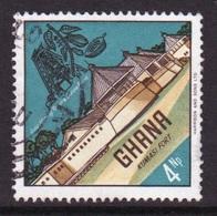 Ghana 1967  Single 4np  Fine Used Commemorative Stamp. - Ghana (1957-...)
