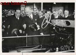 SALON DE L'AUTOMOBILE DE PARIS LE PRESIDENT ALBERT LEBRUN ET LOUIS RENAULT VOITURE CAR 1938 - Famous People