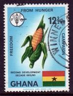 Ghana 1971  Single 12½np Freedom From Hunger Fine Used Commemorative Stamp. - Ghana (1957-...)