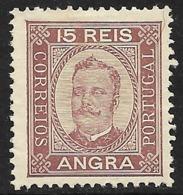Angra – 1892 King Carlos 15 Réis - Angra
