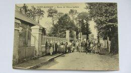 CPA  Ancienne  , SAINT-BLIMONT , Sortie De L'usine LEFORT  . - Abbeville