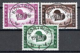 BELGIE: COB 1090/1092 Zeer Mooi Gestempeld. - Belgique