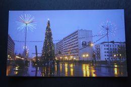 Russia. Chechen Republic - Chechnya. Groznyi Capital, Christmas Tree At Night - Modern Postcard 2000s - Tchétchénie