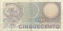 500 LIRE  P20 498024     20-12-1976 - 500 Lire