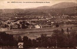 20053  AMBERIEU  VUE GENERALE ET LES MONTAGNES DU BUGUEY - Autres Communes