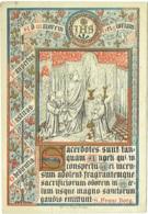 Image Pieuse. Souvenir D'Ordination Du R.P. Alexandre Doucet à Louvain En 1876. Ed.Ve Petyt à Bruges. - Imágenes Religiosas