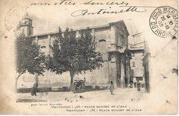 CPA13- MARTIGUES- Place Rouget De L'Isle - Martigues