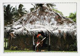 Fidji  Village Typique Coté Sud    Années 80s - Fidschi