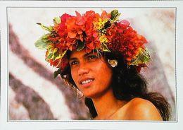 Polynésie Française   Jeune Vahiné    Années 80s - Französisch-Polynesien