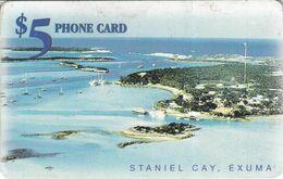 Staniel Cay 5$ - Bahamas