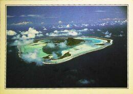 Polynésie Française   Maupiti Vue Aérienne   Années 80s - Französisch-Polynesien