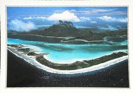 Polynésie Française Lagon Corallien I Vue Aérienne   Années 80s - Französisch-Polynesien