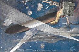 Combat D' Avions Contre Zeppelin  - André Dégert Fusilier Mitrailleur D' Infanterie - Patrióticos