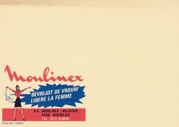 Cartes Entier Postal Publibels 2669 N Moulinex Libère La Femmebevrijdt De Vrouw Spécimen ? - Stamped Stationery