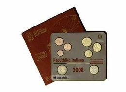 Italy Euro Coins Set 2008 - Italie