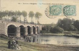 49 Environs D'Angers - LES PONTS DE CE - Pont Sur Le Louet - Les Ponts De Ce