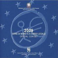 Italy Euro Coins Set 2009 - Italie