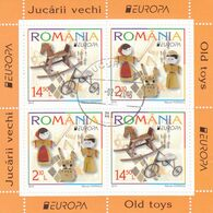 Romania 2015 / Europa 2015 / Old Toys / Block Used. - 2015