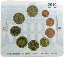 Italy Euro Coins Set 2010 - Italie