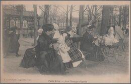 Paris Vécu , Aux Champs Elysées , Femme Au Landau , Animée - Metropolitana, Stazioni