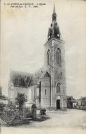49 ST-AUBIN-DE-LUIGNE - L'Eglise Vue De Face - France