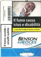 BENSON & HEDGES BLU SOFT ITALY BOX SIGARETTE - Boites à Tabac Vides