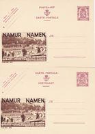 Cartes Entiers Postaux Publibels 805 806 Namur Namen - Stamped Stationery