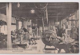 CPA Rare Carte De Montivilliers (76) A Montial  Constructeur Mécanicien Pub    Ed  Librairie Delanoé - Montivilliers