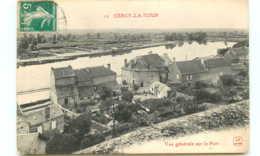 58* CERCY LA TOUR Vue Generale Sur Le Port - Altri Comuni